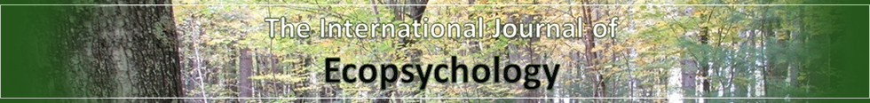 The International Journal of Ecopsychology (IJE)