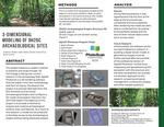 3-Dimensional Modeling of DH2GC Archeological Sites by Jonathan Roldan, Eden Oleson, Boston O'Donohue, and Sarah Conner