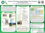 Analysis of Herbicides on Culturally Significant Plants Throughout Yurok Ancestral Territory by Amanda Martinez, Frank Cappuccio, Jenny Cappuccio, and Robert Zoellner