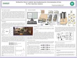 Method for Direct Catalytic Spectrophotometric Determination of Iron by Flow Injection Analysis by Emilia J. McCann