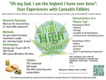Oh my God. I am the highest I have ever been: User Experiences with Cannabis Edibles by Josh Meisel, Grecia Alfaro, Marco Chavez, Rosa Cuevas, Jay Schoenfield, Smith Jessica, and Torisha Stone
