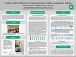 Quality control methods for measuring trace metals in seawater: Blanks by Kezia Rasmussen, Elizabeth Freeman, and Claire Till