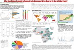 What does China's Economic Influence in Latin America and Africa Mean for its Rise in Global Power?