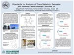 Standards for Analysis of Metals in Seawater by Sean Sandstrom and Robert Freiberger