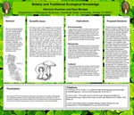 Botany and Traditional Ecological Knowledge by Harrison Kummer and Raul Barajas