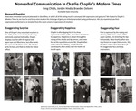 Nonverbal Communication in Charlie Chaplin's Modern Times by Greg Childs, Jordan Hindo, and Braeden Delome