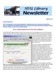 HSU Library Newsletter, 2002-2003 Volume 1