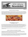 HSU Library Newsletter, 2001-2002 Volume 1