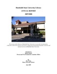 Annual Report 2007-2008 by Humboldt State University Library