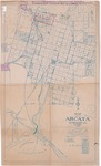Map of Arcata, Humboldt Co., Calif. by W B. Rigby