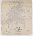 Map of Eureka and Vicinity by Howard B Melendy Papers