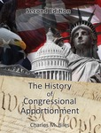 The History of Congressional Apportionment by Charles M. Biles