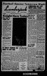The Lumberjack, September 16, 1955