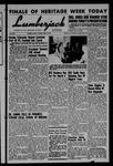 The Lumberjack, February 15, 1957