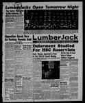 The Lumberjack, September 22, 1961