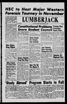 The Lumberjack, March 15, 1963