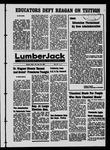 The Lumberjack, January 13, 1967