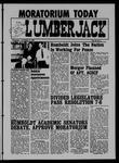 The Lumberjack, October 15, 1969
