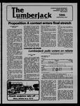 The Lumberjack, April 18, 1979