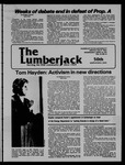 The Lumberjack, April 25, 1979