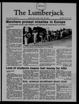The Lumberjack, October 26, 1983