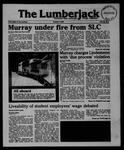 The Lumberjack, October 09, 1985