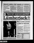 The Lumberjack, November 08, 1989