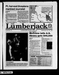 The Lumberjack, November 29, 1989