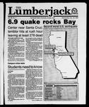 The Lumberjack, October 18, 1989