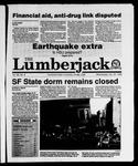The Lumberjack, October 25, 1989