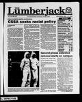 The Lumberjack, September 27, 1989
