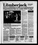 The Lumberjack, April 10, 1991