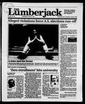 The Lumberjack, April 24, 1991