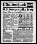 The Lumberjack, January 17, 1991