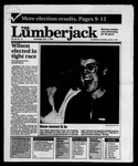 The Lumberjack, November 07, 1990