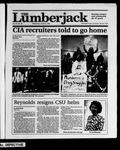 The Lumberjack, April 25, 1990