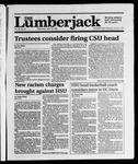 The Lumberjack, April 18, 1990