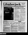 The Lumberjack, April 11, 1990