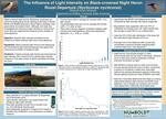 The Influence of Light Intensity on Black-crowned Night Heron Roost Departure by Melissa A. Miranda