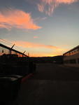 Sunrise at Arcata High by Vivian Gerstein