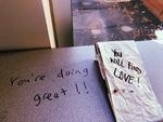 Positive Affirmations Fom a Stranger.. by Laura R. Almeida