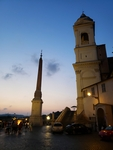 Sunset at The Spanish Steps by Rhiannon Nicole Rudick